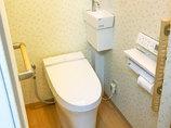 トイレリフォーム明るく快適な空間に生まれ変わったトイレ